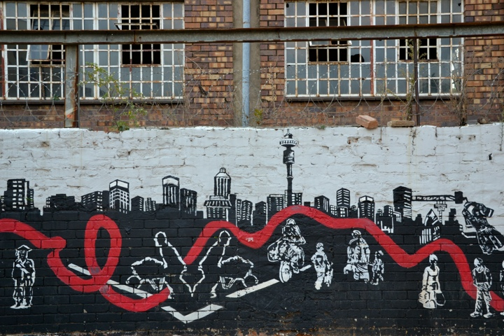 Johannesburg CBD Graffiti, City of Gold festival
