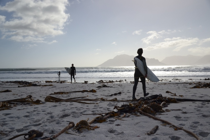 Beach, South African West Coast, surfers