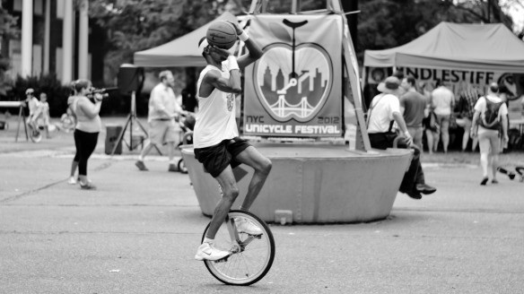 Governor's Island New York Unicycle festival 2012