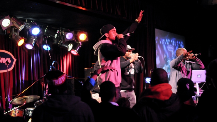 Hip hop show BB Kings NYC