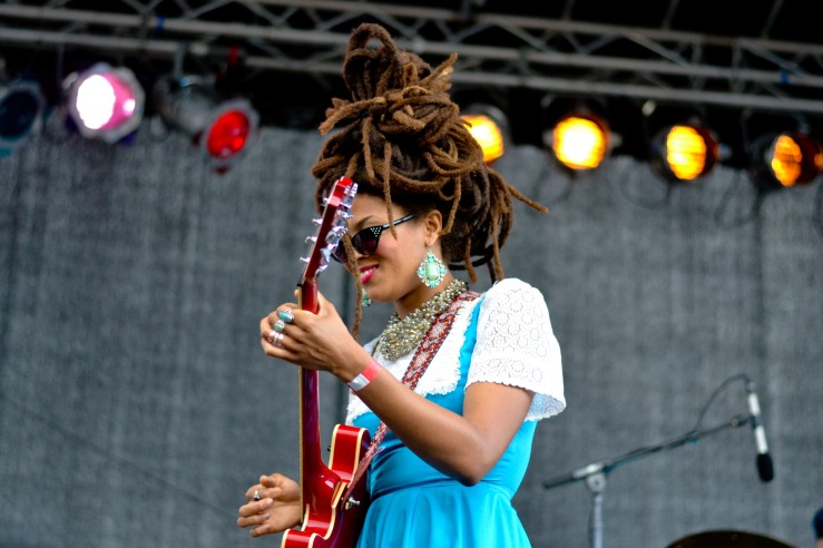 Valerie June at Afropunk festival 2014 Brooklyn new York
