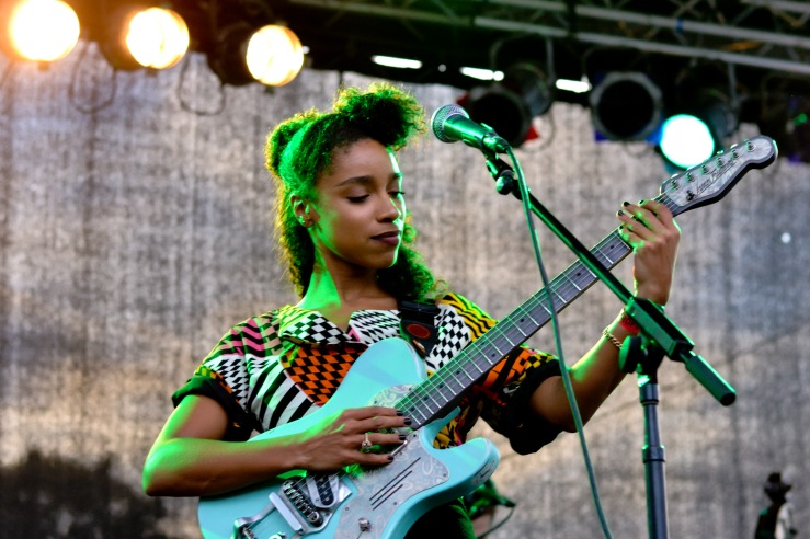 Lianne La Havas at Afropunk festival 2014 Brooklyn new York