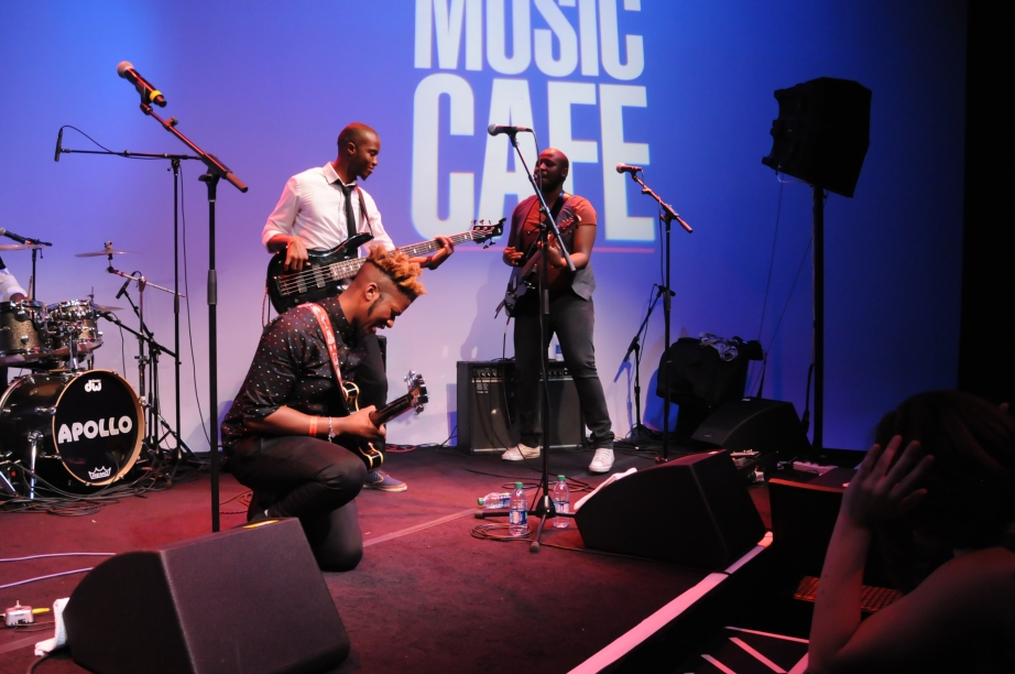 The Muffinz at Apollo Music Cafe 2014