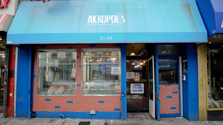 Storefronts in Astoria, Queens, New York City