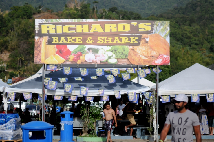 Richard's Bake & Shark Maracas Beach Trinidad
