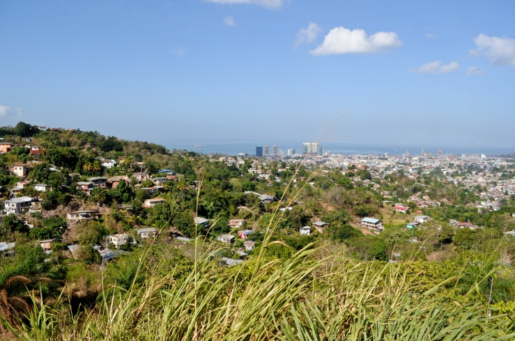 A view of Port of Spain